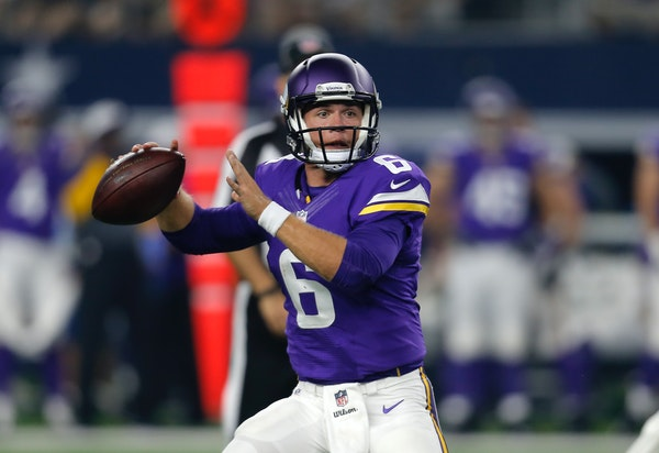 Vikings quarterback Taylor Heinicke
