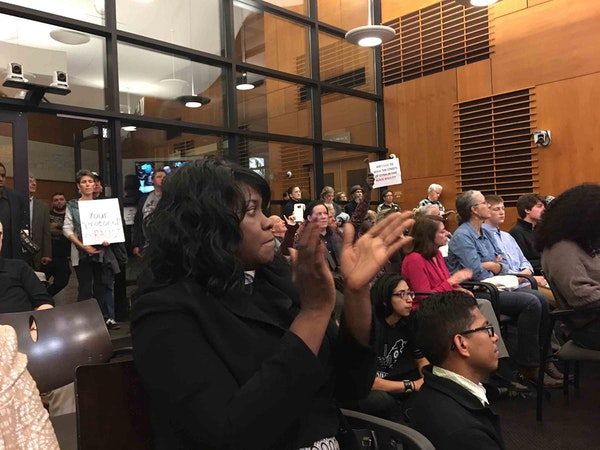 Edina's mayor and City Council got an earful Tuesday night from an overflow crowd of about 150 residents and advocates who showed up to respond to las