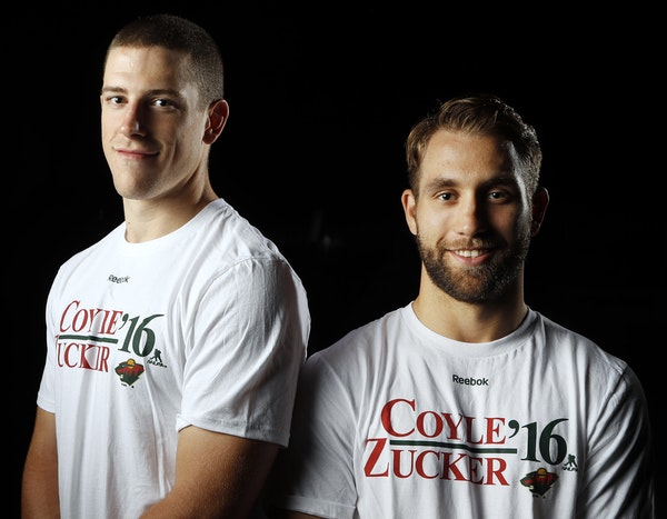 This election — and hockey — season, the Wild has its own preferred ticket: Charlie Coyle and Jason Zucker.