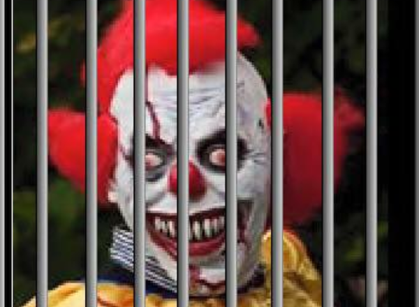 """This photo accompanied a message from """"Kroacky Klown"""" that led to an arrest by Hopkins police."""