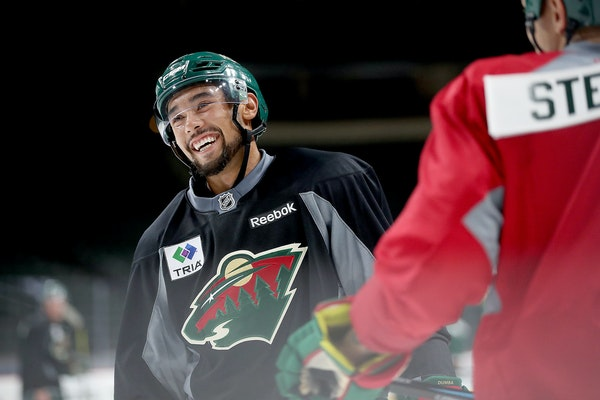 Nearly being scratched from the fourth game of the season last week seems to have gotten through to Wild defenseman Matt Dumba.