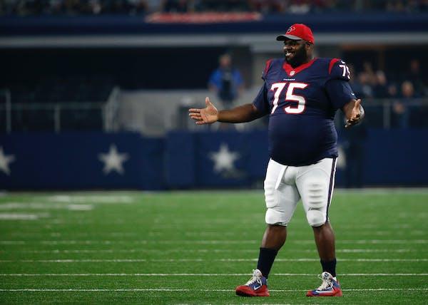 Houston Texans nose tackle Vince Wilfork