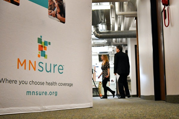 MNsure's web site and phone lines were busy early Tuesday as the open enrollment period began for 2017.