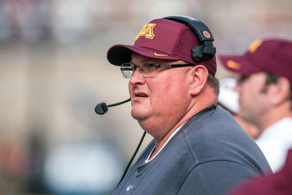 """Gophers football coach Tracy Claeys said Wednesday that he is """"not a fan"""" of the Big Ten adding Friday night games to the schedule for next season"""