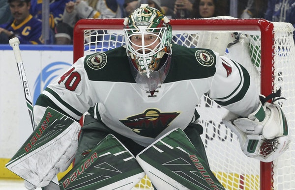 Goalie Devan Dubnyk was named Second Star of the Week last week after denying all 94 shots against in three starts to lead the Wild (6-2-1, 13 points)