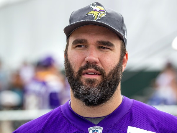 Center John Sullivan injured his back and missed the 2015 season. Sullivan tried to come back but wasn't himself physically and the Vikings eventual