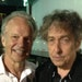Minnesota music icons Bobby Vee and Bob Dylan stood backstage in 2013 at Midway Stadium in St. Paul.