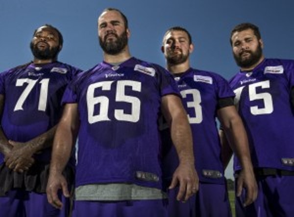 Top teams have invested more in offensive line than Vikings