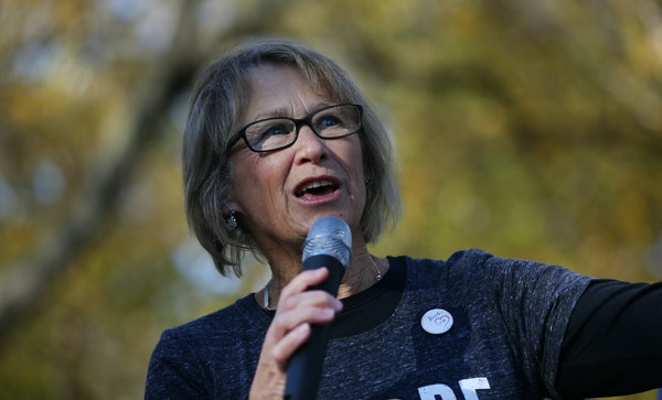 """Patty Wetterling, shown in October, responded to a court brief filed Thursday by Danny Heinrich's attorneys, saying, """"To state that he never had a"""