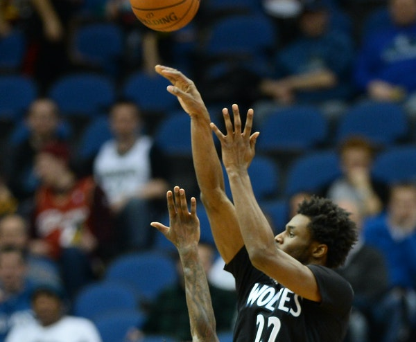 Andrew Wiggins has improved his three-point shooting lately, which will help open up on drives to the hoop.