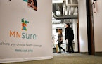 The MNsure call center in St. Paul.