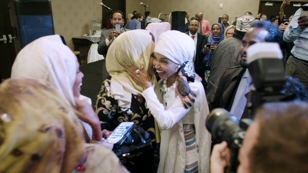 Ilhan Omar supporters celebrate new possibilities for Somali-Americans