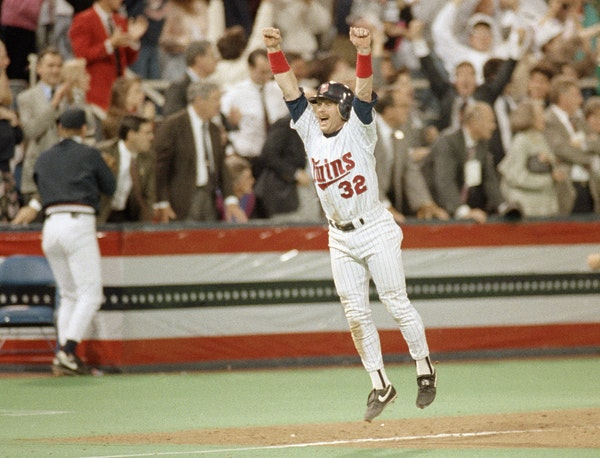Dan Gladden's Twins career included two World Series championships. He scored the winning run in Game 7 of the 1991 World Series against Atlanta at th