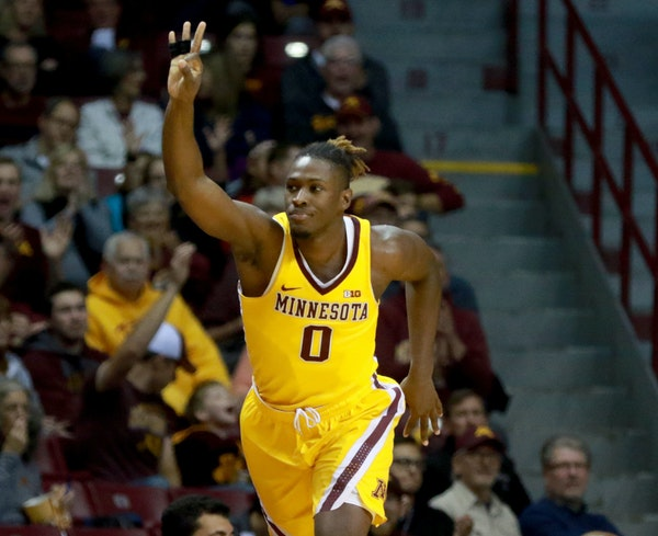The Gophers' Akeem Springs knows all about midmajors winning at WIlliams Arena; he did it last year with Wisconsin-Milwaukee.