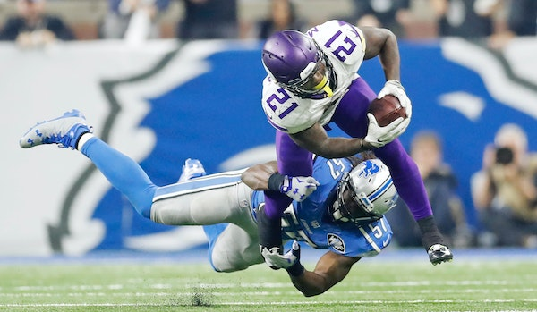 Lack of big plays is an epidemic on offense. Jerick McKinnon is part of a Vikings running game that averages just 2.8 yards per carry.