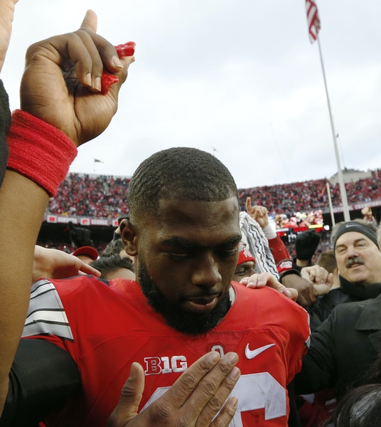 Quarterback J.T. Barrett and Ohio State likely secured their playoff spot with their stirring double-overtime victory over Michigan last week.