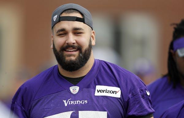 Vikings tackle Matt Kalil