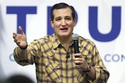"""Sen. Ted Cruz was criticized in January after his campaign sent """"voter shaming"""" letters."""