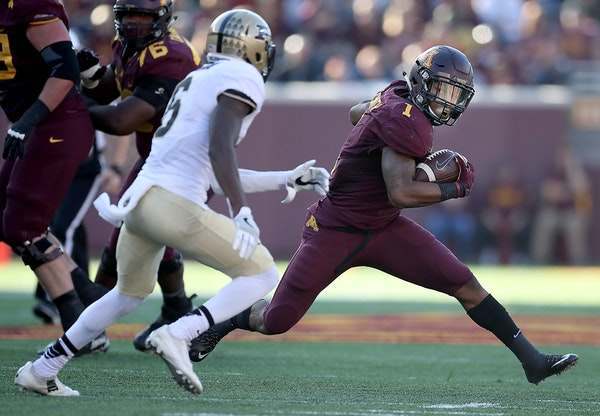 Running back Rodney Smith is a big reason the Gophers have a shot in the Big Ten West.