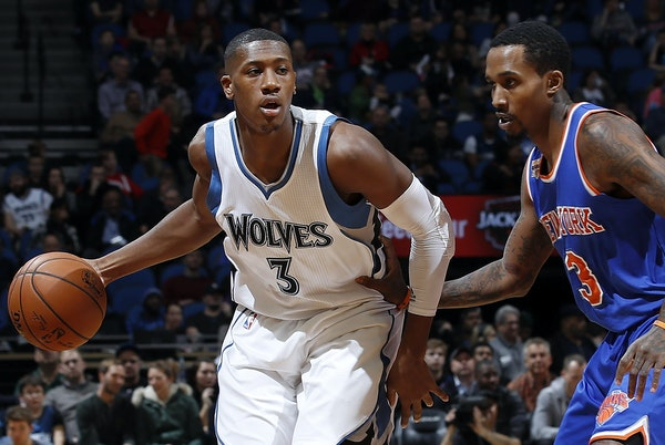 Kris Dunn had better luck against New York on Friday than he did at home Wednesday.