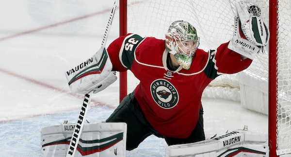 Darcy Kuemper took a loss in his last start, in October.