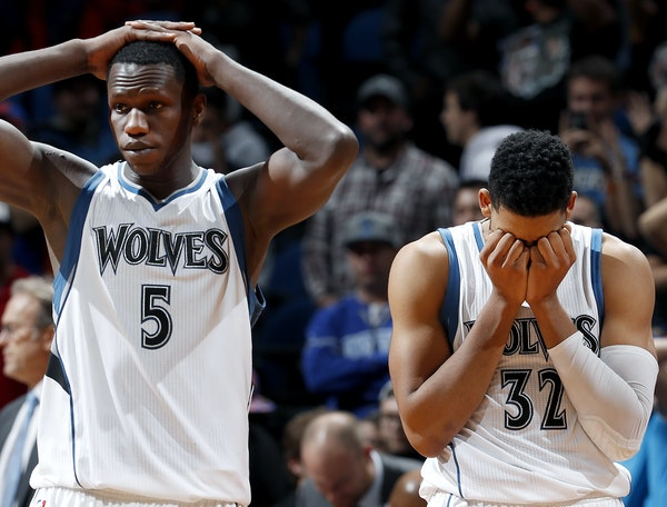 A home loss to the Knicks hit Gorgui Dieng (5) and Karl-Anthony Towns hard, but the Wolves rebounded Saturday with an inspiring victory in Charlotte.