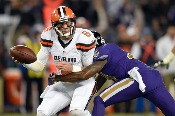 The NFL's forgettable Thursday night fare this season included the Ravens' 28-7 victory over the winless Browns on Nov. 10. The average margin of