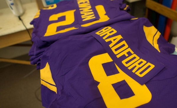 Vikings show off new uniforms this week for NFL's 'Color Rush'