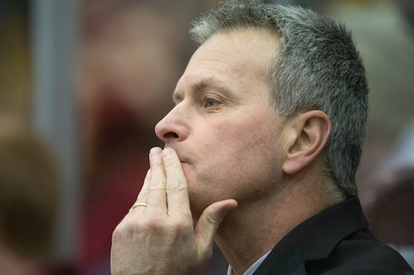 Don Lucia earned his 700th career victory as a college hockey coach Sunday, reaching the milestone when the Gophers defeated Boston College 4-2.