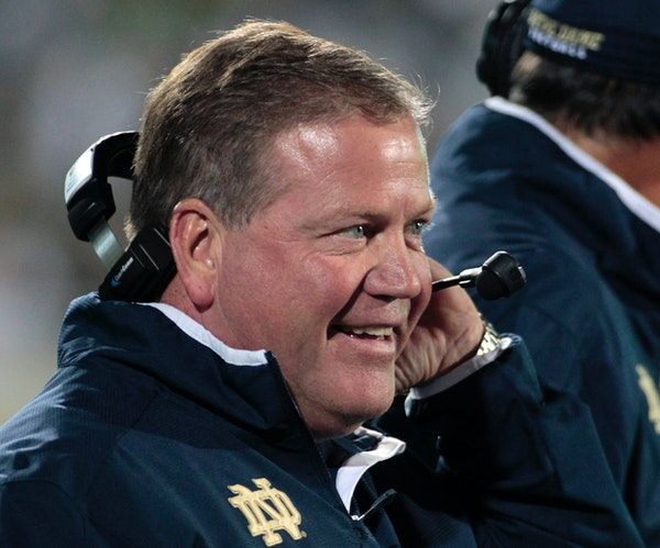What happens now to Notre Dame's Brian Kelly?