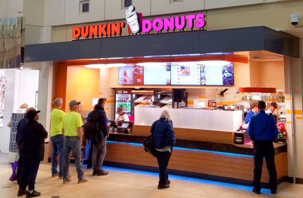 Dunkin' Donuts arrives at MSP's main terminal