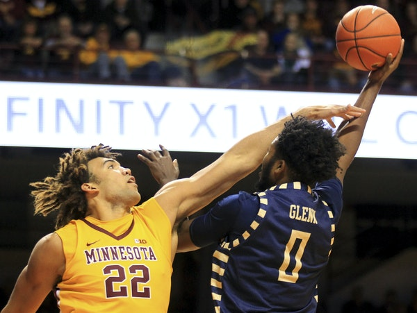 Gophers center Reggie Lynch leads the team in deflections, a point of new emphasis.