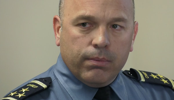 St. Paul Police Chief Todd Axtell