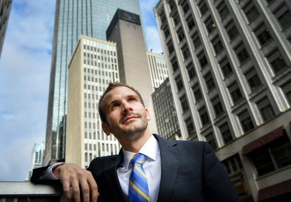 Jonathan Weinhagen, new president of the Minneapolis Regional Chamber of Commerce, said he is thinking about getting the next generation involved.