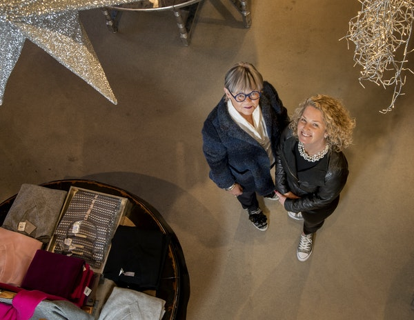 Judith McGrann and daughter Meghan are owners of the clothing boutique Judith McGrann & Friends in St. Louis Park.