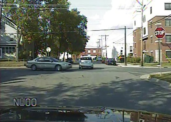 Uber driver John Myles Henning was pulled over after running a stop sign and nearly colliding with another car. Altogether, he has had six moving viol