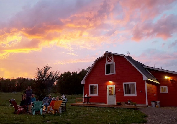 At the Hungry Hippie Hostel in Grand Marais, a transformed barn holds five private rooms and a bunk room. photo provided by Hungry Hippie Hostel
