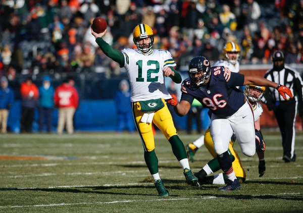Aaron Rodgers has led the Packers to four consecutive wins, including a dramatic victory Sunday against the Bears, and hasn't thrown a pick since No