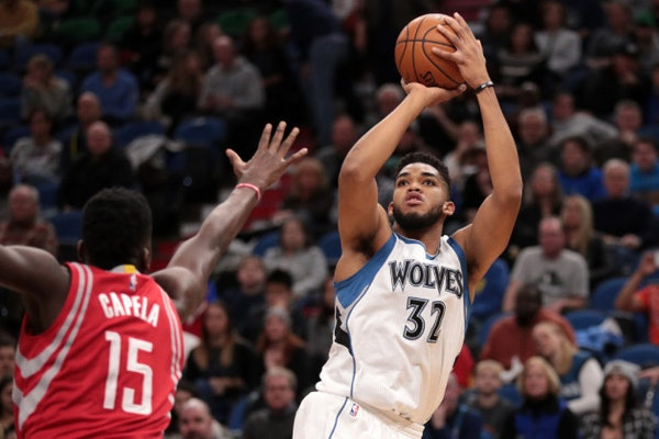 Karl-Anthony Towns: Top five performances of 2016