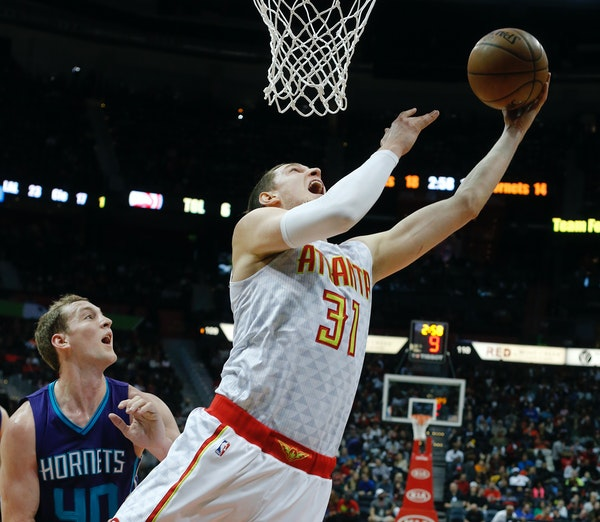 This will be Hawks center Mike Muscala's first Christmas back home in Roseville since he played at Bucknell four seasons ago.
