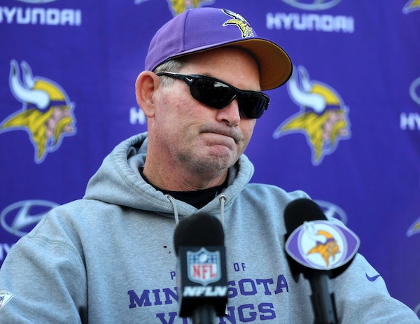 FILE - Mike Zimmer