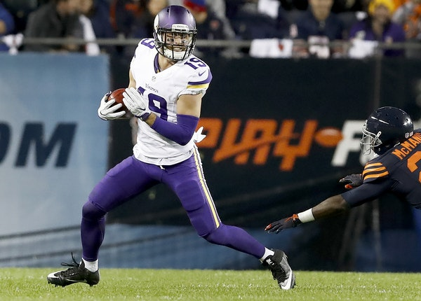Vikings receiver Adam Thielen