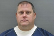 Timothy Dorway's booking photo.