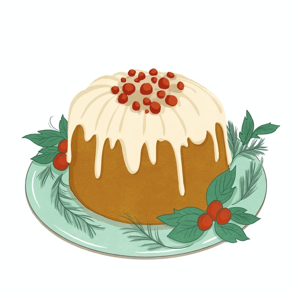 """Jaime Anderson, special to the Star Tribune Illustration for 2016 Christmas essay, """"The Tale of the Misplaced Pudding Pot"""" by Judith Guest"""