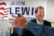 The campaign for Jason Lewis for Congress was in high gear on Nov. 5 in Burnsville.