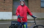 Jonathan Cook of St. Paul can measure his bike commuting life in decades.