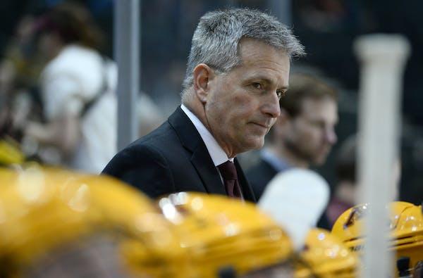 Lucia previews Gophers/Notre Dame NCAA hockey tilt
