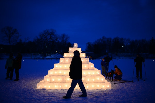 The Luminary Loppet, a lighted ski on Lake of the Isles, will be part of the Great Northern festival, a trifecta of outdoor winter events.