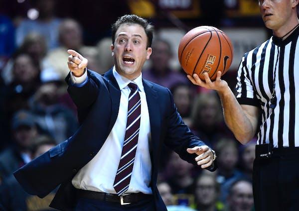 Gophers basketball coach Richard Pitino