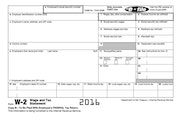 This screen grab from the Internal Revenue Service website shows a sample W-2 form. Employers are being tricked into sending detailed employee tax inf